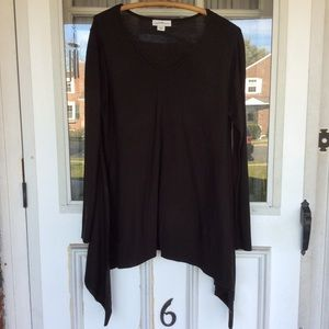 NWOT...Jaclyn Smith Collection Black Sweater!